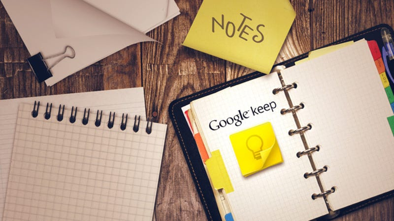 Illustration for article titled Not Just Another Notes App: Why You Should Use Google Keep