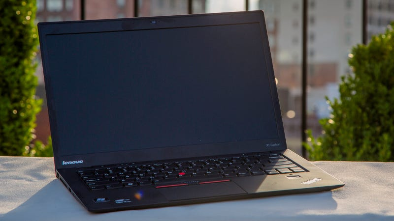 Illustration for article titled Lenovo X1 Carbon: Holy Crap