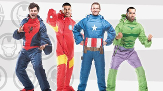 Illustration for article titled Combine your love of Sleep and Cosplay with Marvel-themed Sleeping Bags