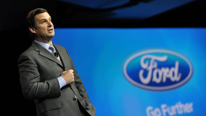 Jim Farley at the 2013 New York International Auto Show. Image via Ford