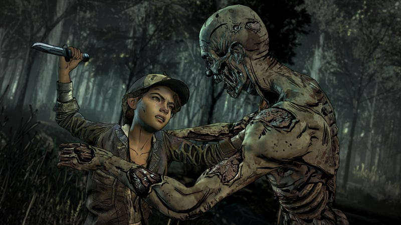 """Illustration for article titled Telltale Says """"Potential Partners"""" Could Finish The Walking Dead"""