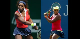 Serena Williams (Bulent Kilic/Getty); Taylor Townsend (Mike Stobe/Getty)