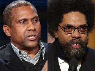 Tavis Smiley; Cornel West (Getty Images)