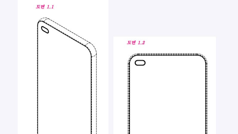 Holes Are the New Notches, According to a Recent LG Patent