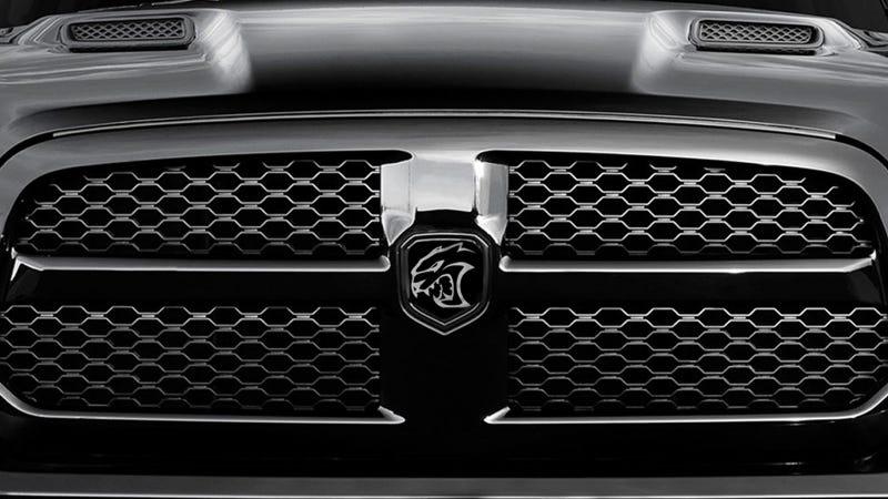 Illustration for article titled Should Chrysler Make A 707 Horsepower Ram SRT Hellcat Truck?