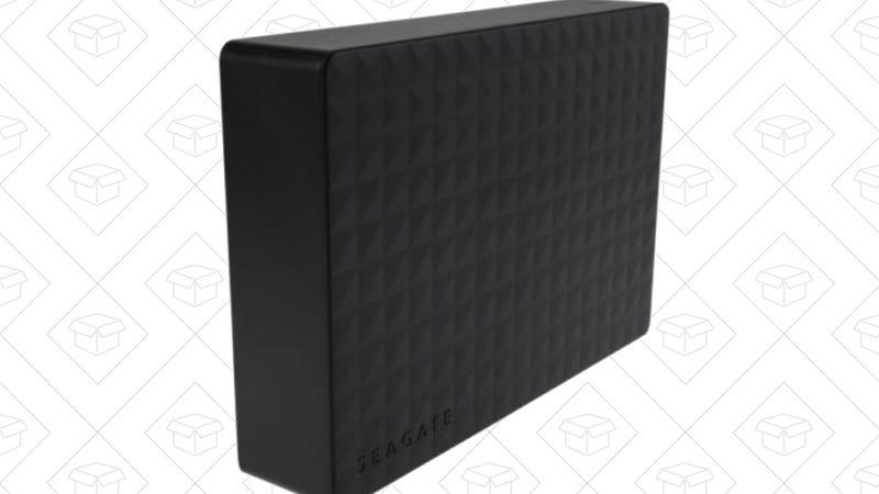 5TB Seagate Expansion Hard Drive, $110