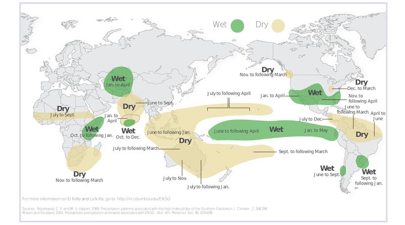 Illustration for article titled Dónde y cuándo podría impactar el fenómeno meteorológico de El Niño