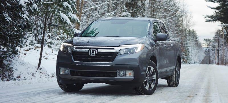 How to test a truck's AWD system: drive to New Hampshire in the winter. Photo Credit: Raphael Orlove