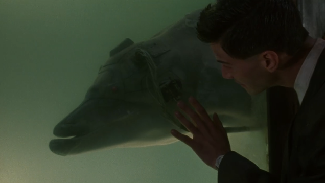 Johnny Mnemonic s Cyber-Dolphin Is Still the Apex of Cyberpunk