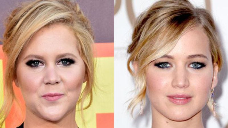 "Illustration for article titled Jennifer Lawrence to play ""a mess"" in film with new friend Amy Schumer"