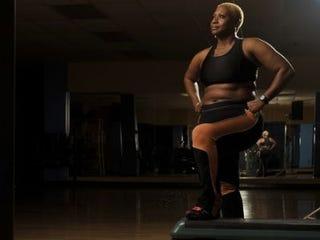 Aerobics instructor Michelle Gibson (Marvin Joseph/the Washington Post)