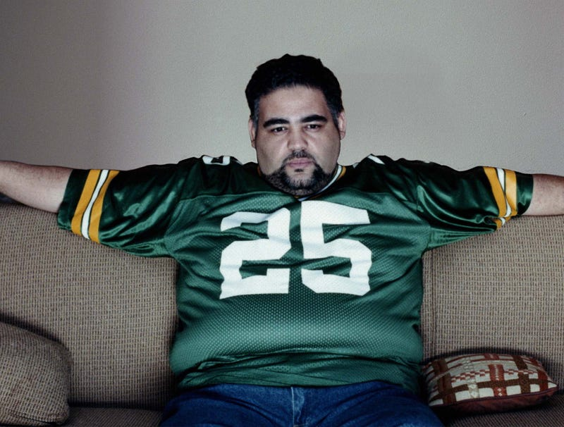 Illustration for article titled Packers Fan Slow To Get Up