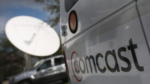 Comcast Graciously Drops Data Caps, but Only for Northeast Customers, Until 2022