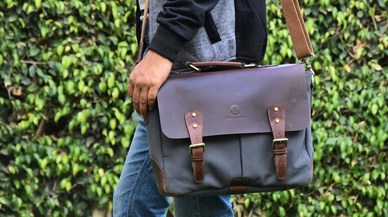 Aaron Leather Laptop Messenger Bags | $34-$37 | Amazon