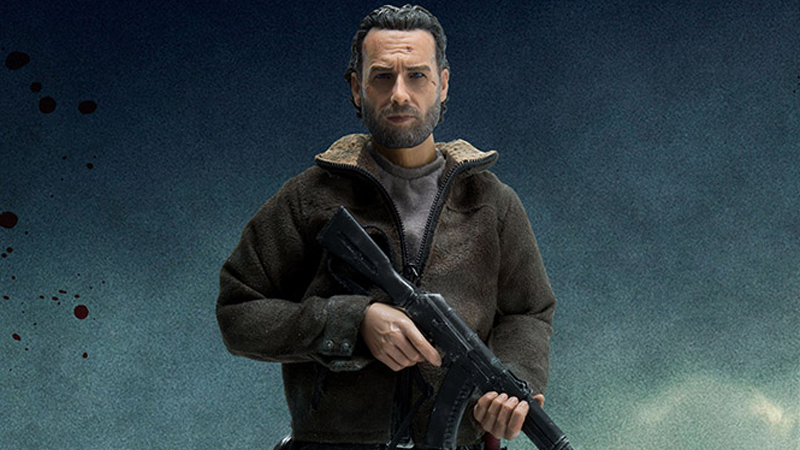 Illustration for article titled This Walking DeadRick Grimes Figure Has Leaped Straight Out of the Apocalypse and Onto Your Desk