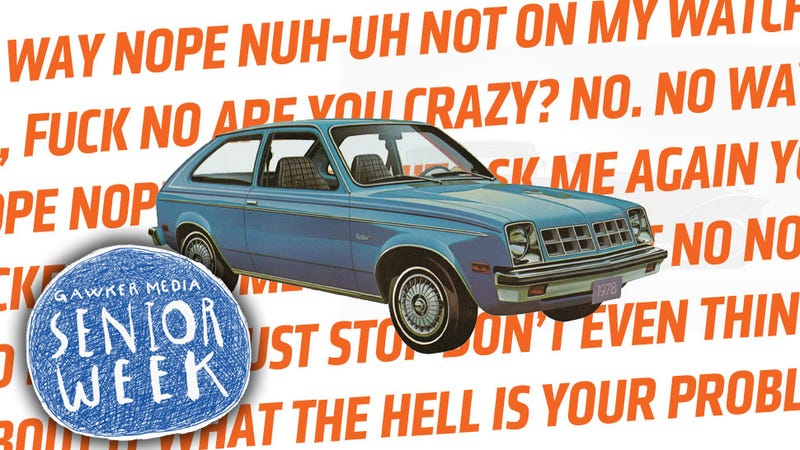 Illustration for article titled I Had One Story Rejected By Four Jalopnik Editors And I Still Can't Tell It To You