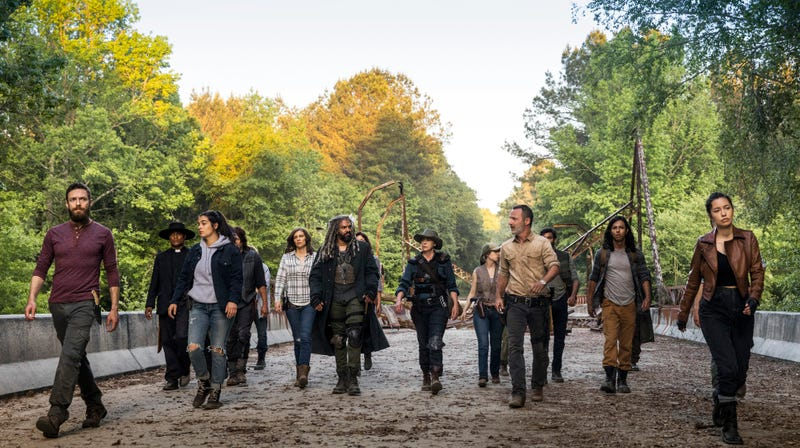 Illustration for article titled The Walking Dead will keep shambling along forever, either as new shows or spin-off movies