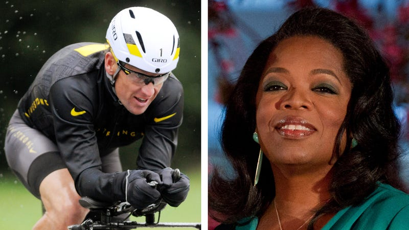 Illustration for article titled Oprah to Quiz Lance Armstrong About His Roid Rage on Cable TV