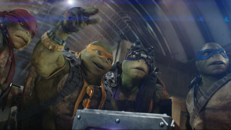The Turtles are coming back to the big screen. Just not these turtles.