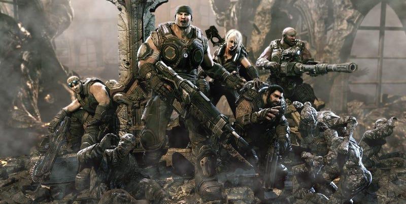 Illustration for article titled La épica película sobre Gears of War que aún no has visto