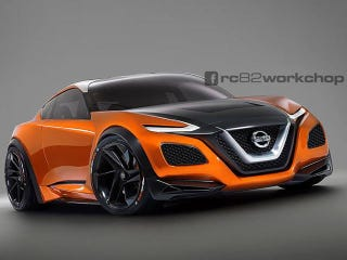 Illustration for article titled This rendering would make a pretty sweet Nissan Z car