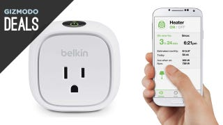 Illustration for article titled Belkin's Entire Line of WeMo Switches is on Sale Today on Amazon