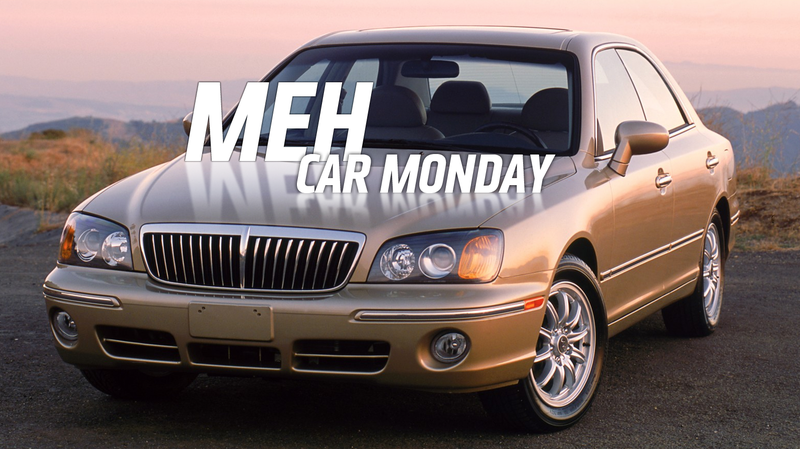 Meh Car Monday: Try And Recall The Hyundai XG350