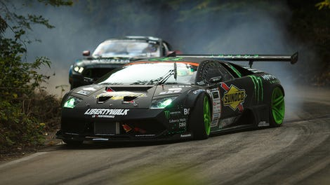 Here's Every Driver's Fantasy, Or At Least All The Ones With Drift Lamborghinis And Nissan GT-Rs