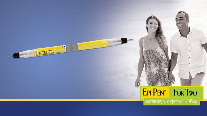Illustration for article titled Pfizer Unveils New Double-Sided EpiPen For Lovers