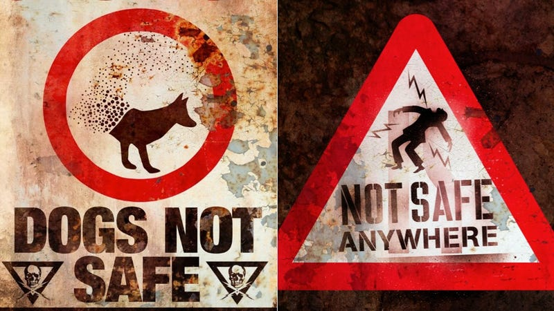 Illustration for article titled The Darkest Hour has the best alien warning signs since District 9