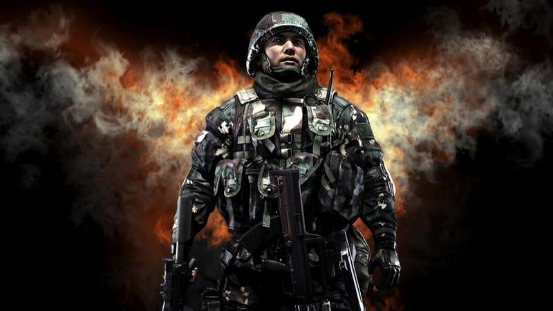 Illustration for article titled Así es el (terrible) videojuego del ejército chino contra Japón