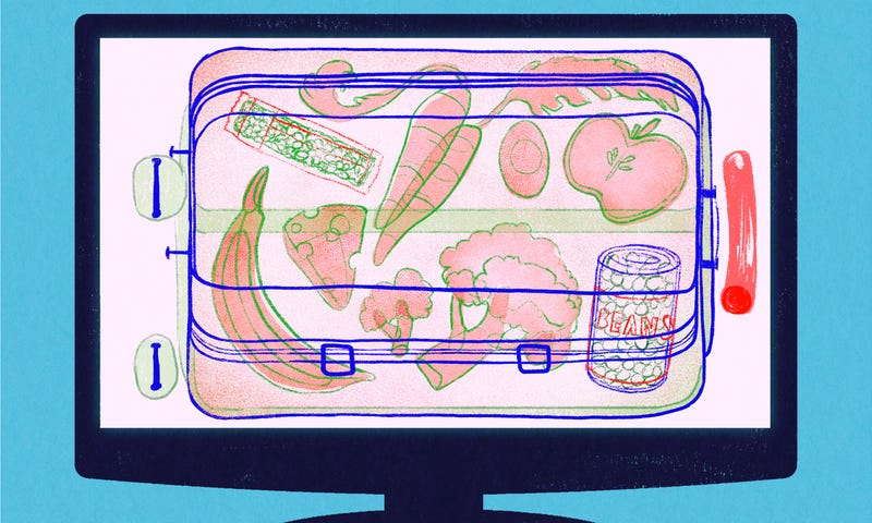 Illustration for article titled How to Pack Healthy Food When You Travel
