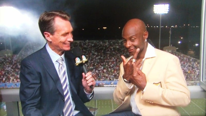 Illustration for article titled To Dan Marino, Jerry Rice Gives A Double F-U