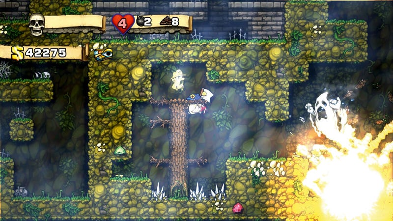 Illustration for article titled Mod Forces Spelunky to Create the Same Levels