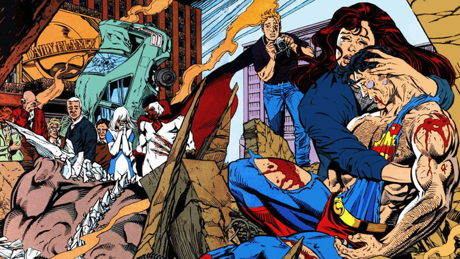Superman Died So Lois Clark The New Adventures Of Superman Could Live