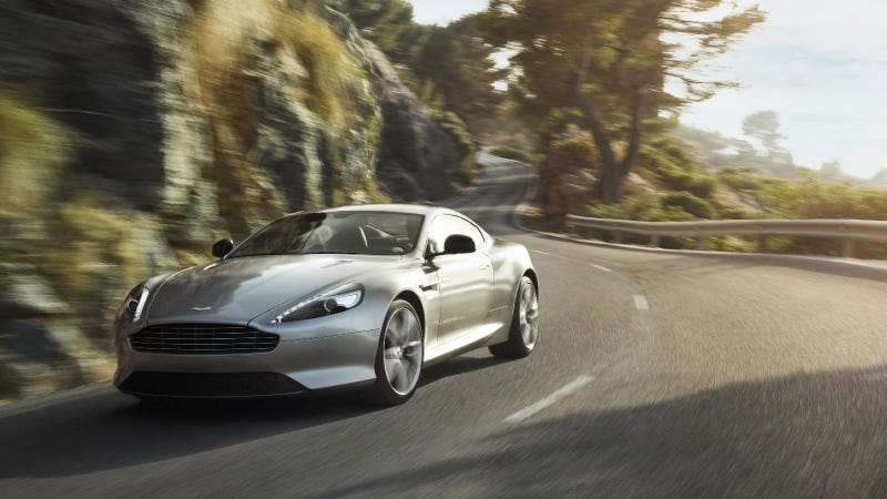 Illustration for article titled The 2013 Aston Martin DB9 Is A More Powerful Yet Still Gentle Lover