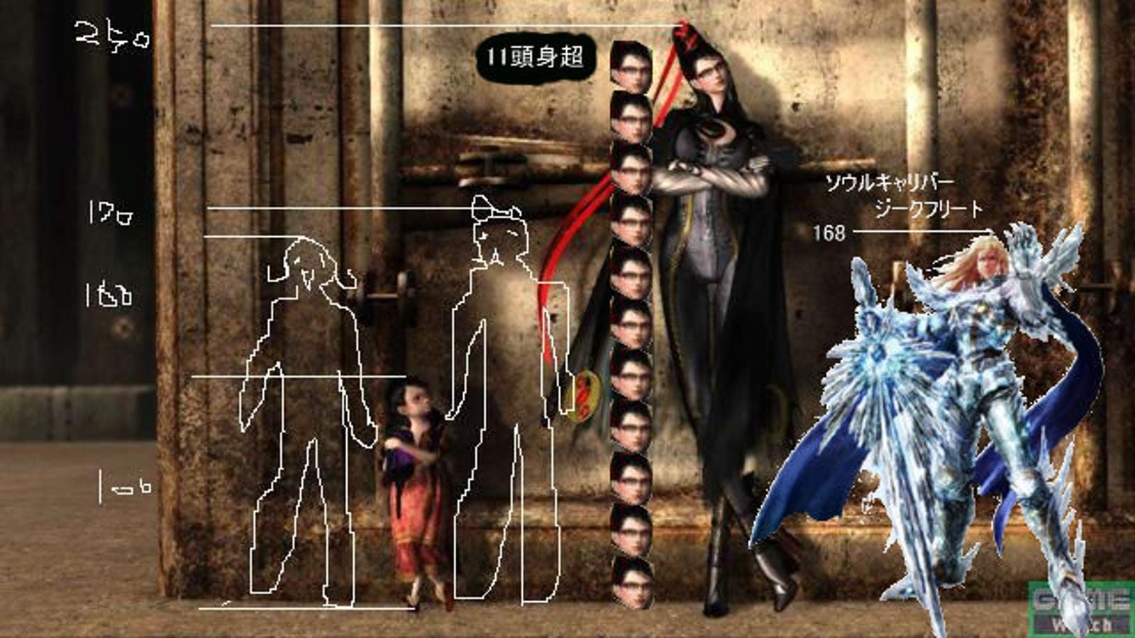 is bayonetta a giant