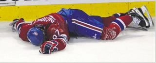 Illustration for article titled Really, Montreal Fans? A Protest Against Head Shots Now?