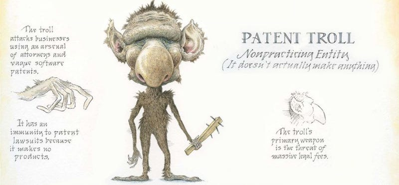 Illustration for article titled Google Attempts to Fight Patent Trolls with a Pretty Dubious Strategy