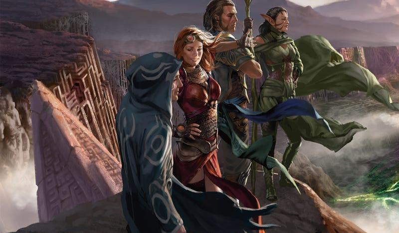 Illustration for article titled El juego de cartas Magic: The Gathering se convertirá en un juego de rol online al estilo de World of Warcraft