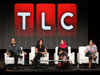 """""""All-American Muslim"""" panel (Frederick M. Brown/Getty Images)"""