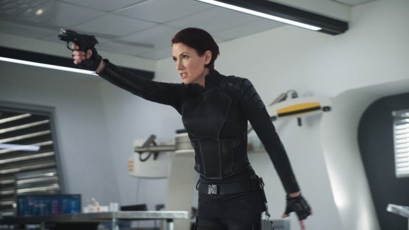 Alex Danvers, superhero.