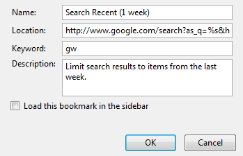 Illustration for article titled Search Newest Google Results from Firefox
