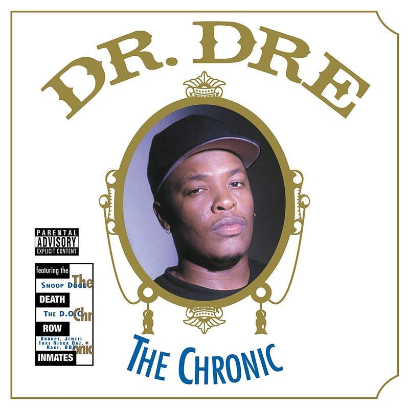 Dr. Dre's The Chronic album cover (Death Row Records/Interscope)