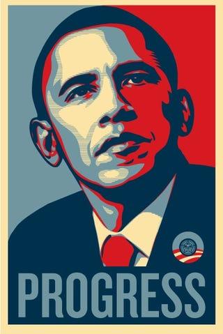 Illustration for article titled Obama