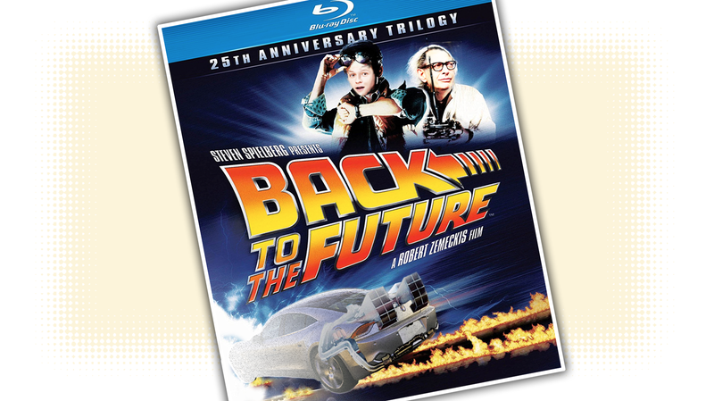 Illustration for article titled If There Is A Back To The Future Remake The Time Machine Must Be A Fisker Karma