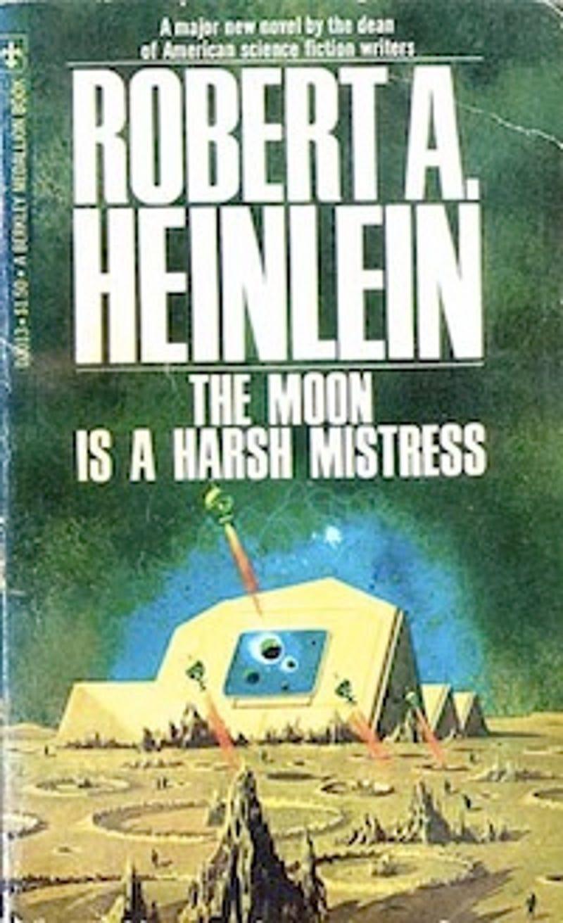 Heinleins The Moon Is A Harsh Mistress Goes Dismayingly Easy On - Heinlein us map