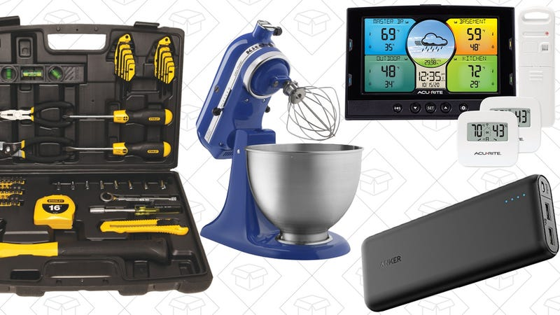 Illustration for article titled Today's Best Deals: Weather Stations, KitchenAid, Stanley Tools, and More