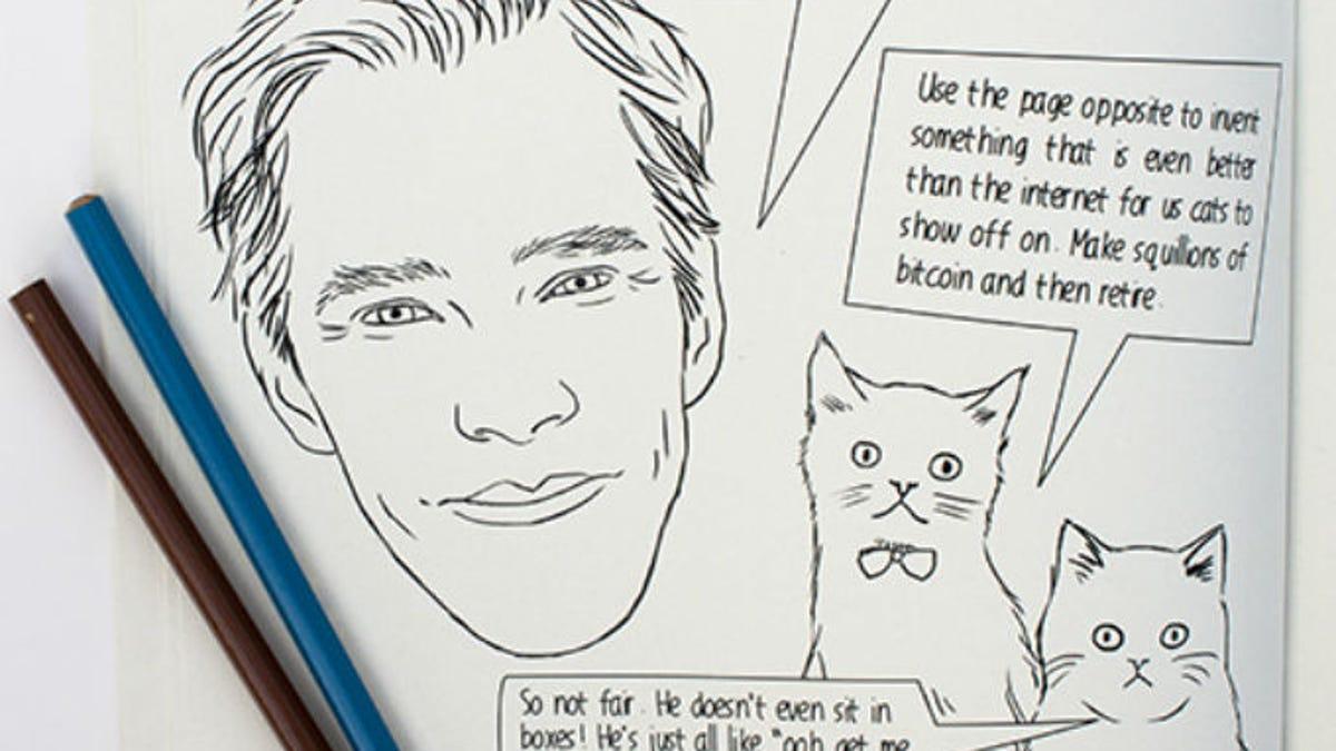 Ryan Gosling Benedict Cumberbatch Coloring Books Are Must Haves