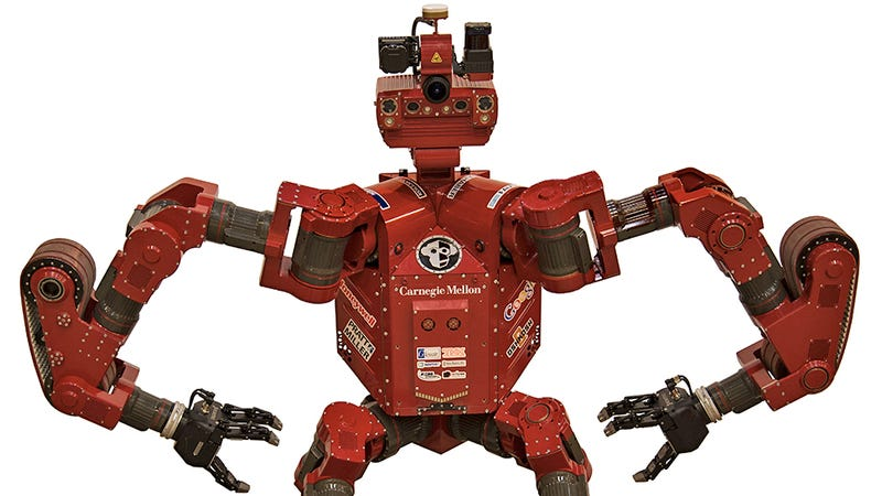 Illustration for article titled A Handy Guide to Every Robot Competing In This Weekend's DARPA Challenge